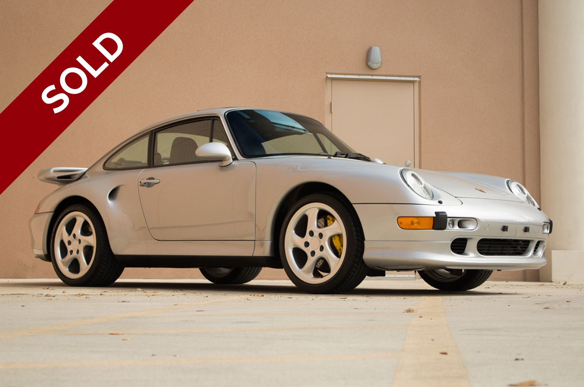 Sold 1997 porsche 993 turbo s