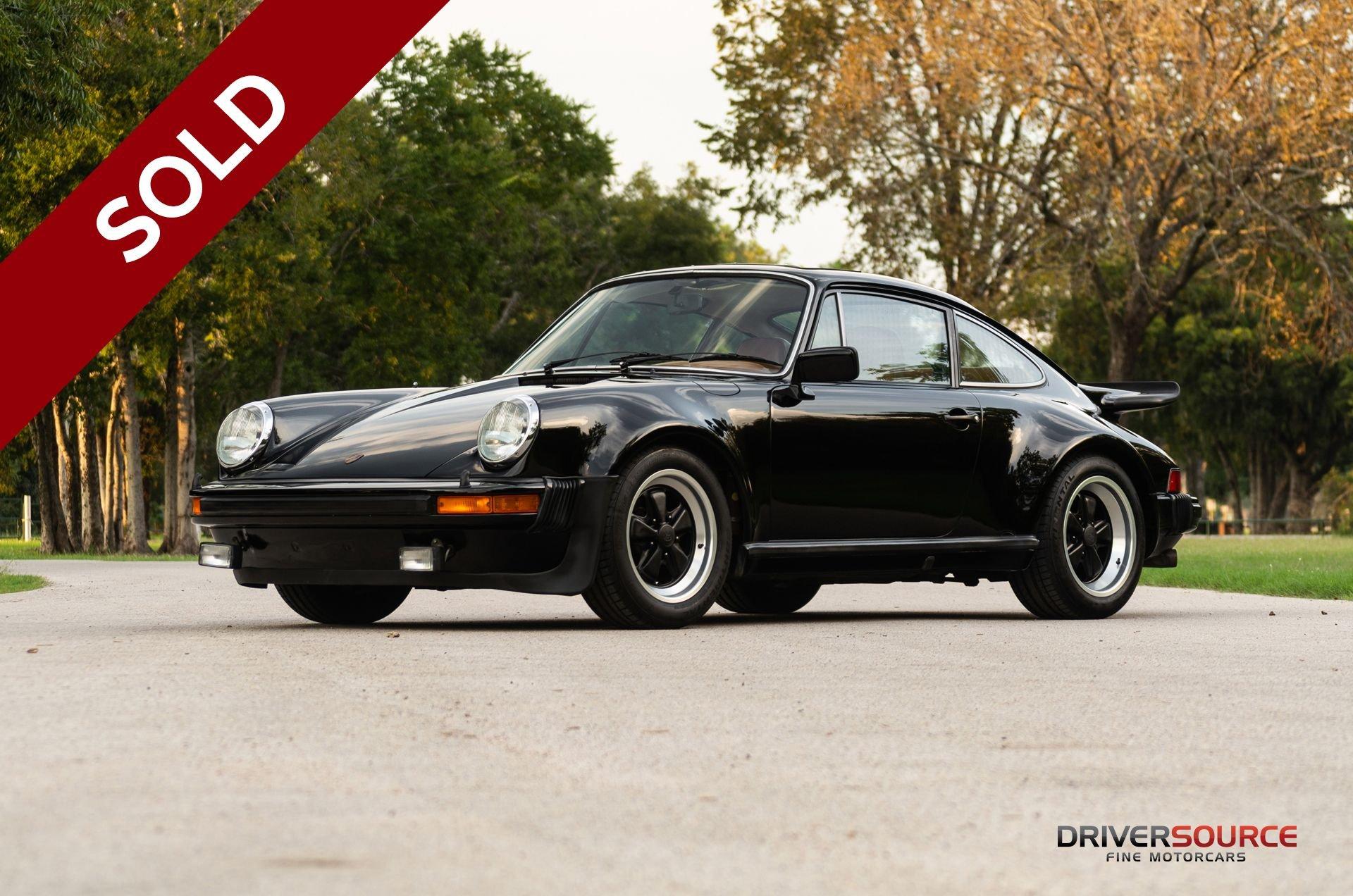Sold 1976 porsche 911 turbo carrera