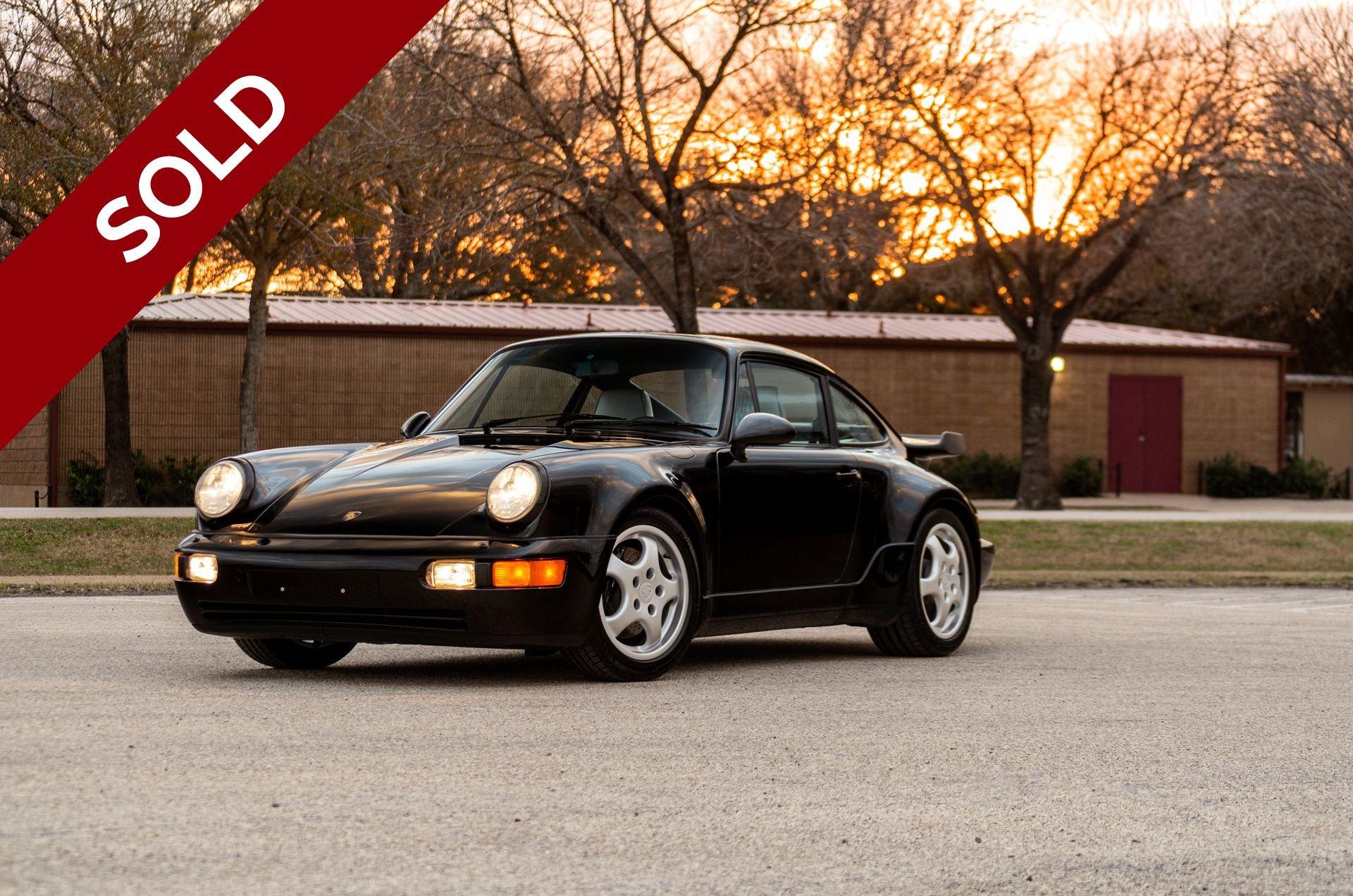 Sold 1991 porsche 964 turbo