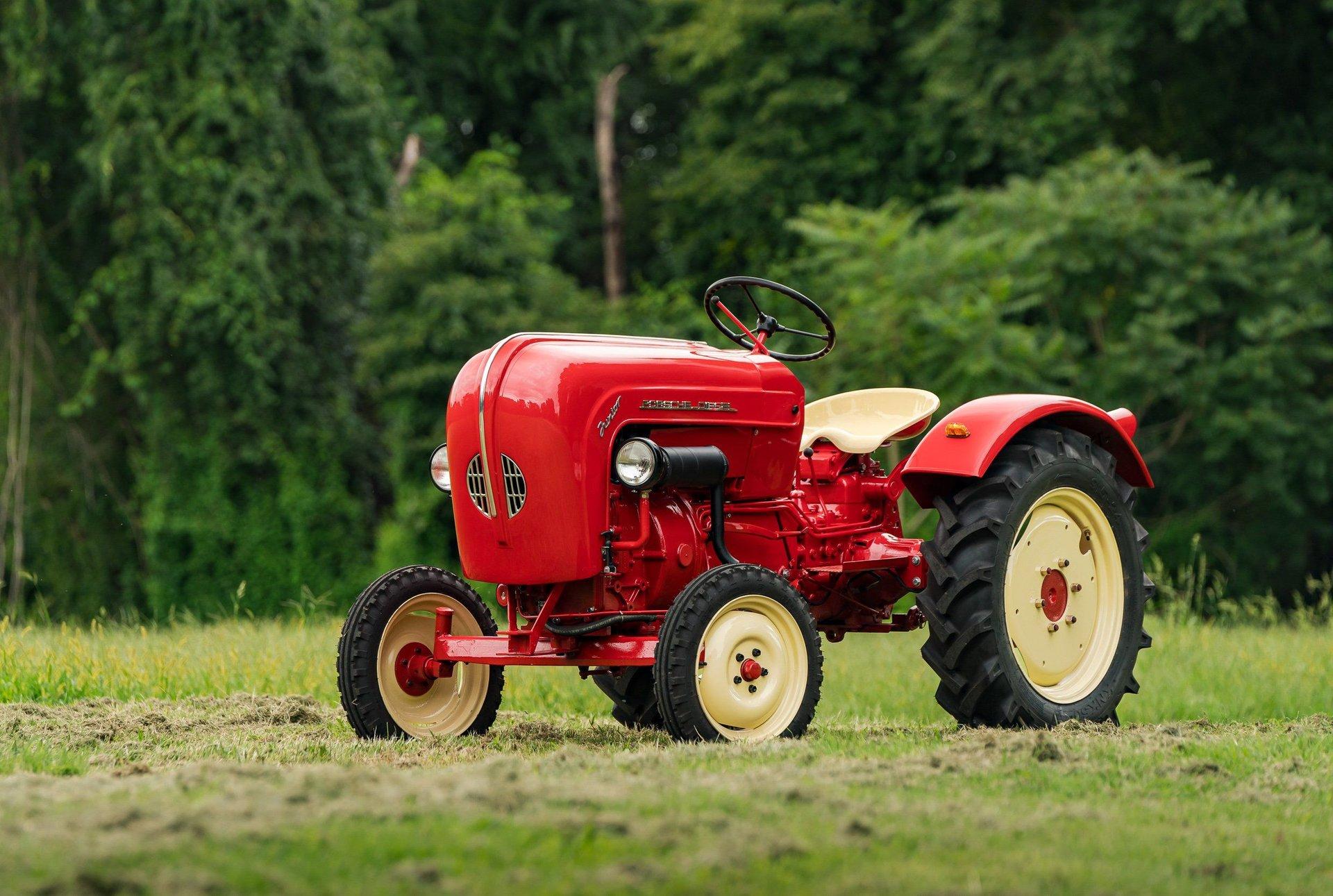 1960 porsche diesel junior 108 l