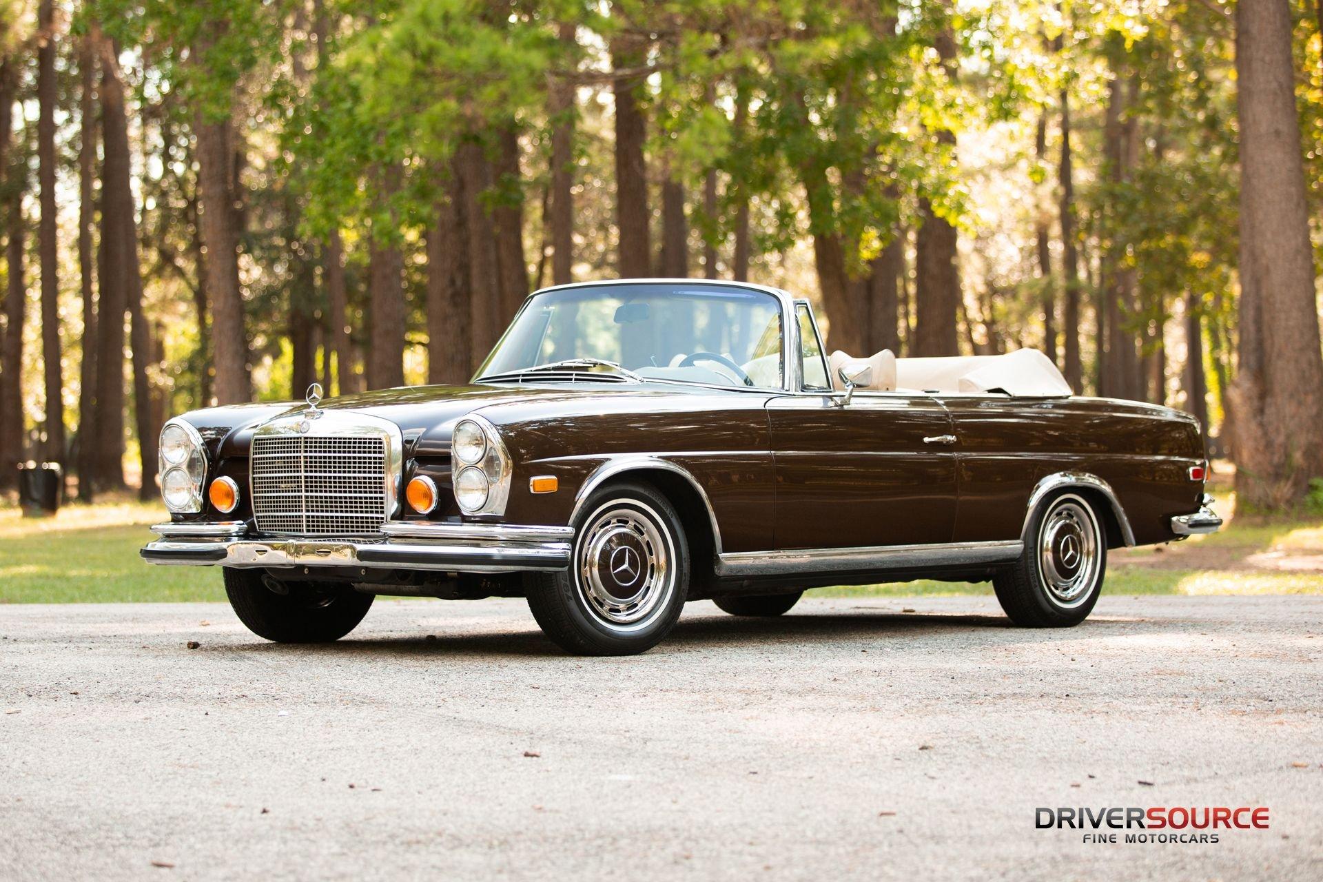 1971 mercedes benz 280 se 3 5