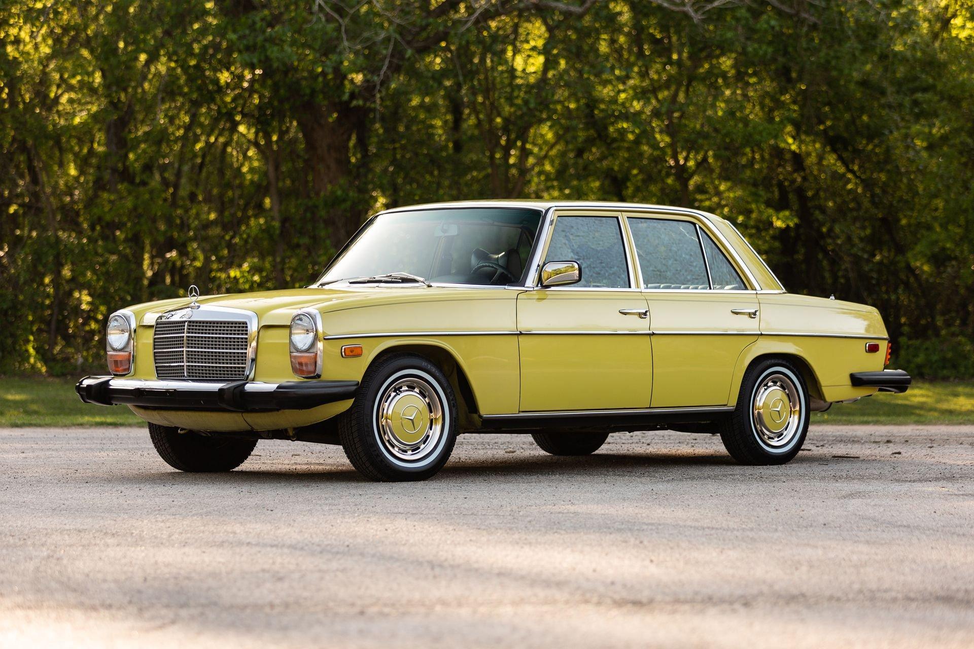 1976 mercedes benz 240d