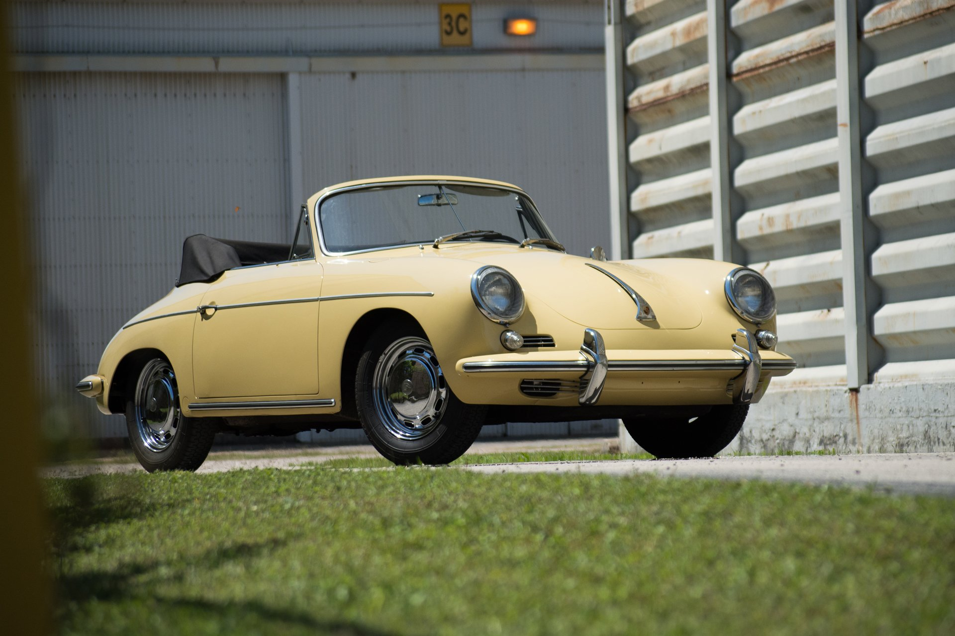 1965 porsche 356c 1600 sc cabriolet