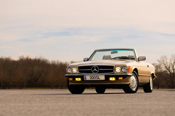 1985 mercedes benz 300sl
