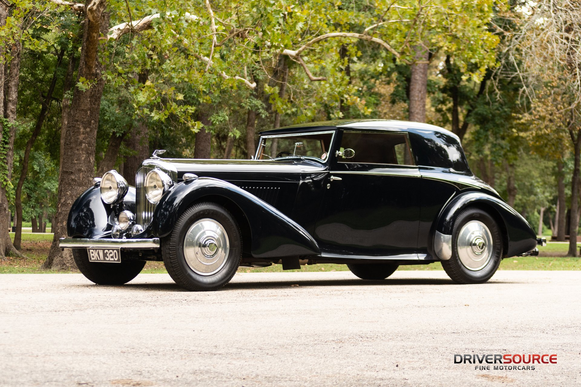 1937 bentley 4 25 liter fhc