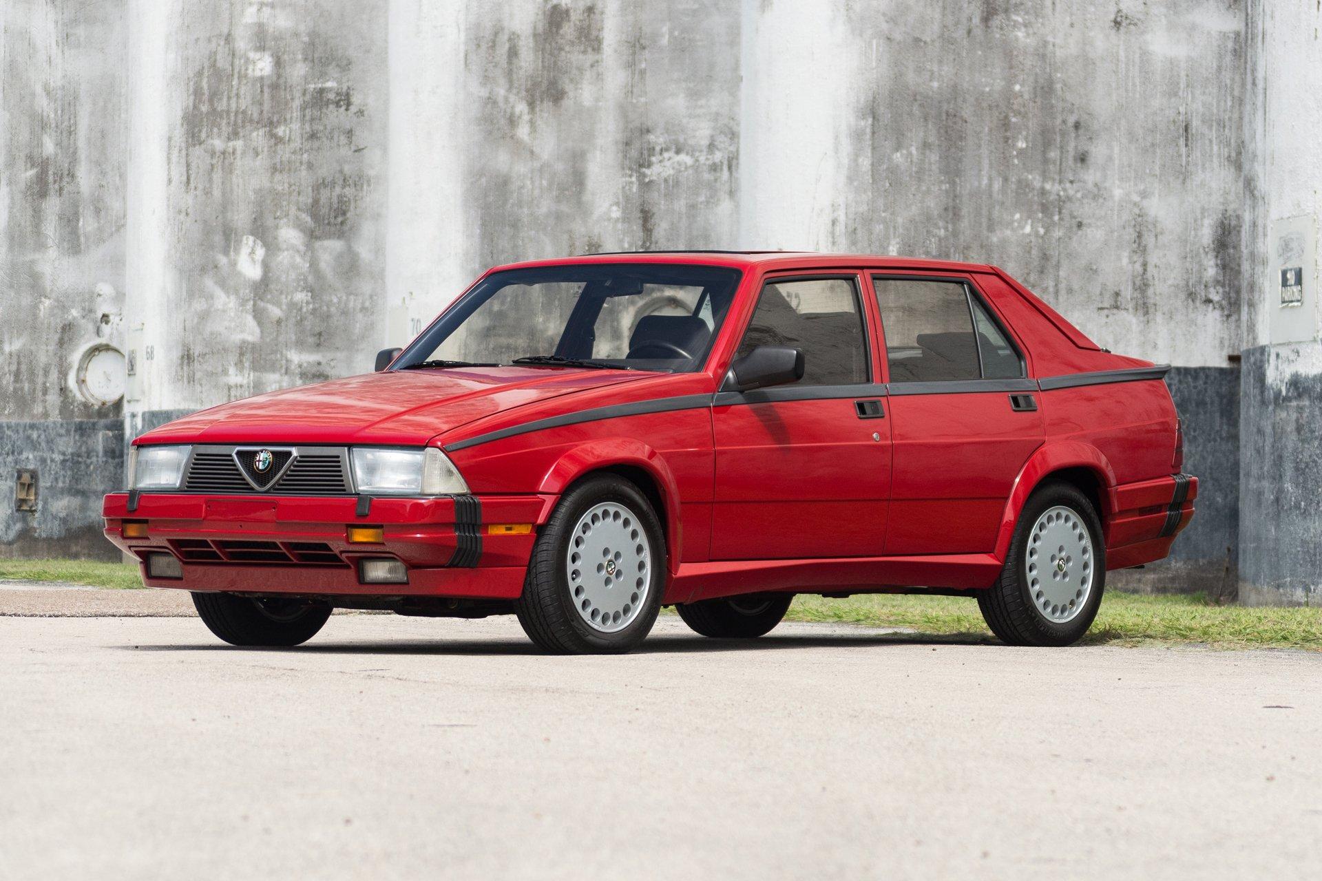 1989 alfa romeo milano verde