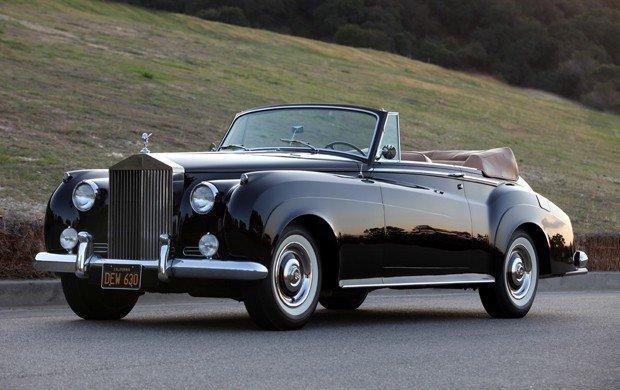 1961 rolls royce silver cloud ii dhc