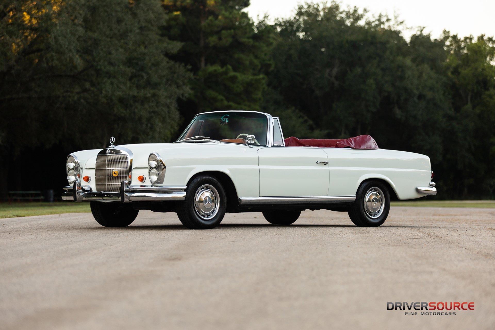 1963 mercedes benz 220seb cabriolet