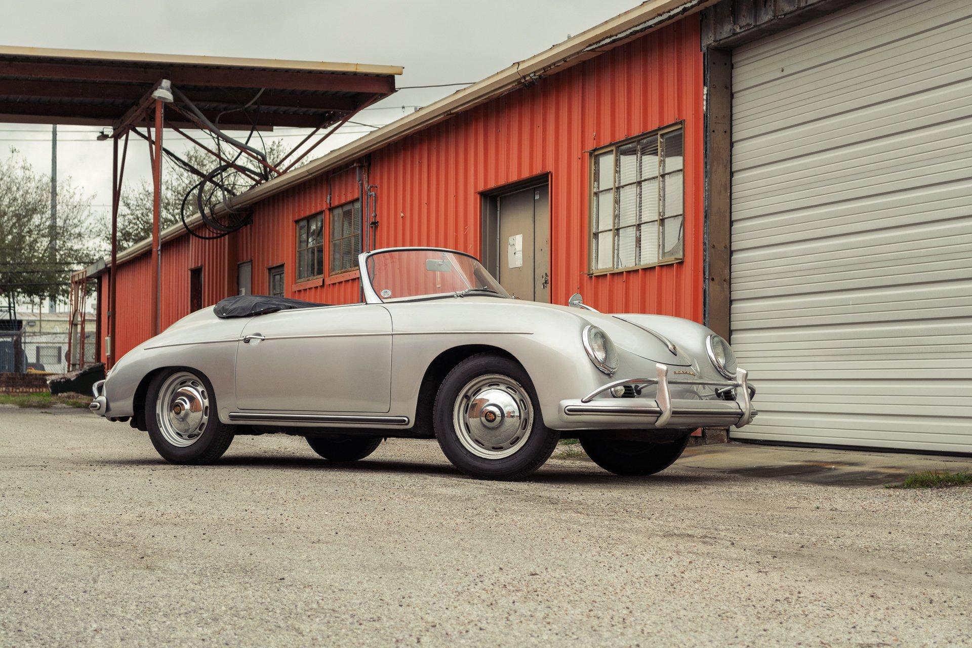 1959 porsche 356 conv d