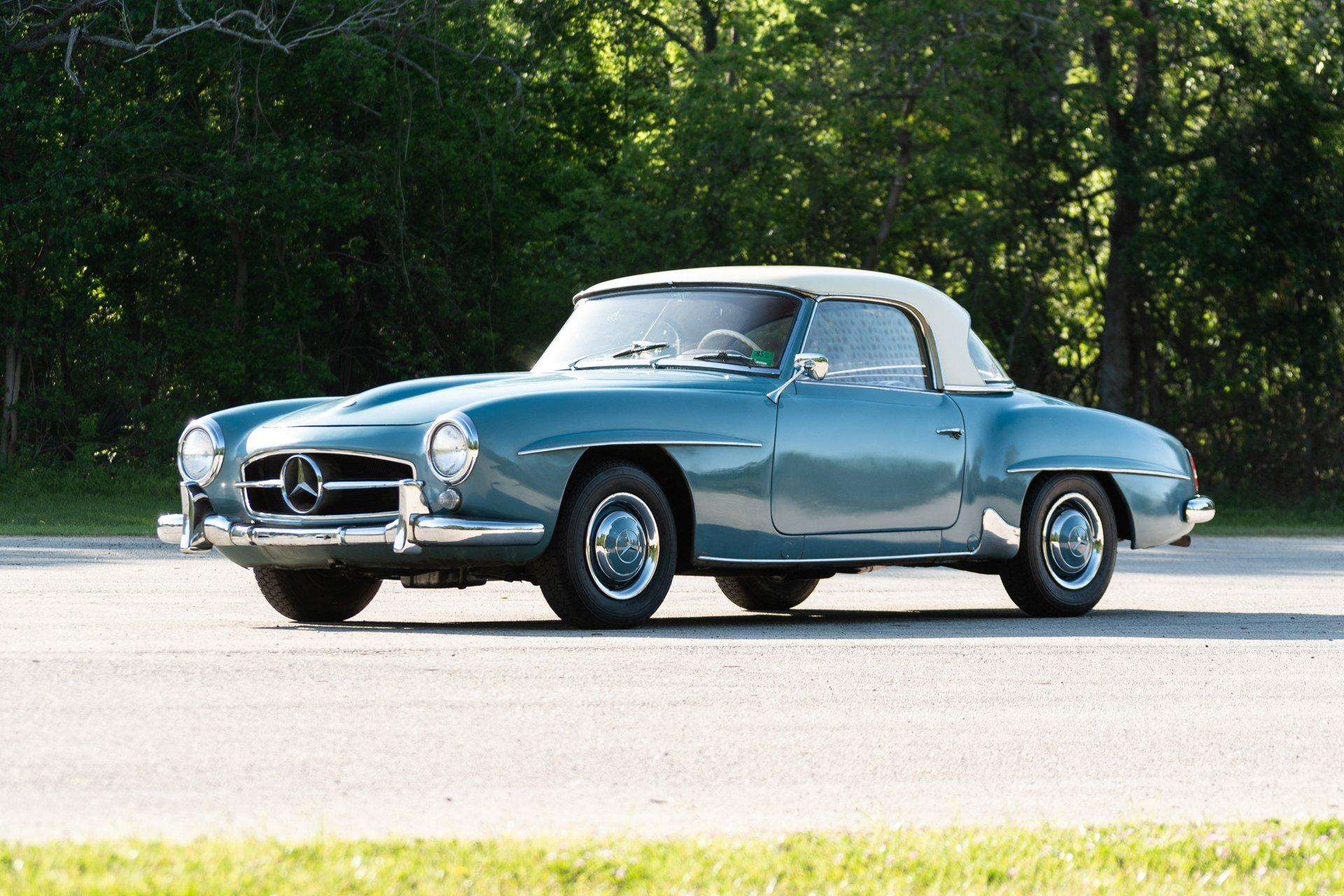 1962 mercedes benz 190sl