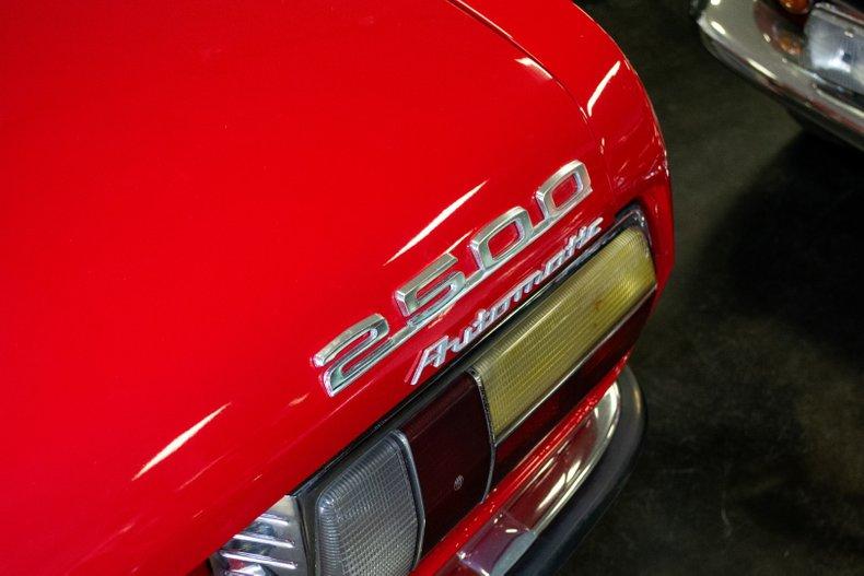 1971 BMW 2500 Bavaria