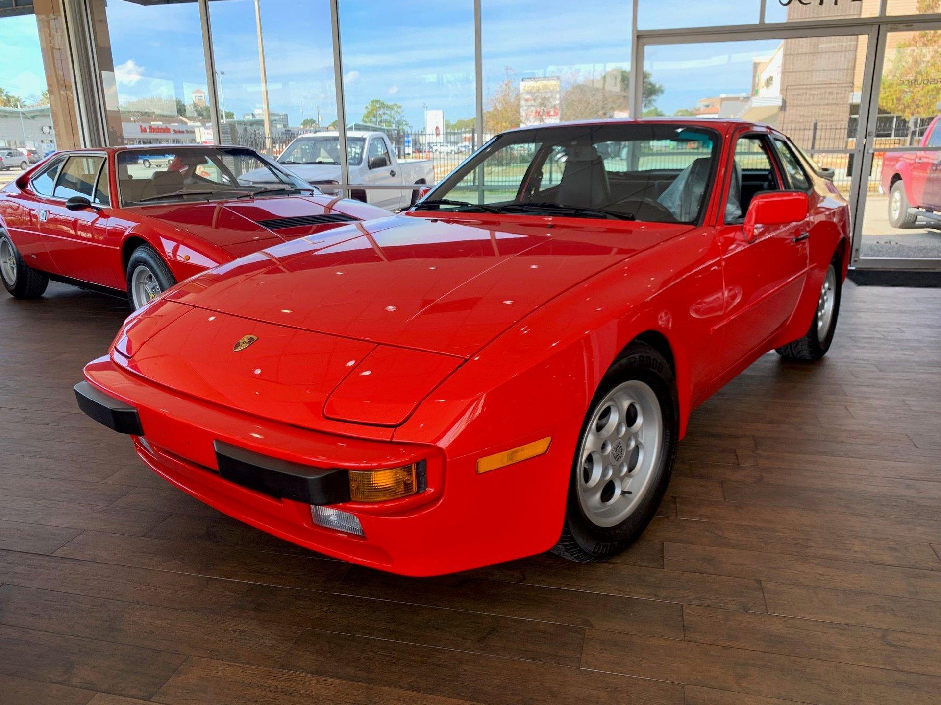 1986 porsche 944 2dr coupe 5 spd