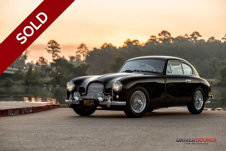 SOLD - 1954 Aston Martin DB 2/4