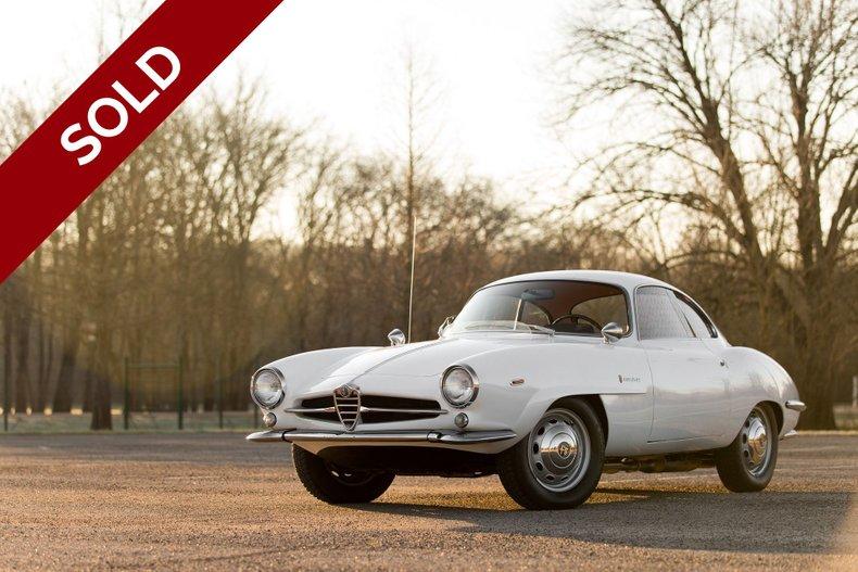 SOLD - 1966 Alfa Romeo Sprint Speciale
