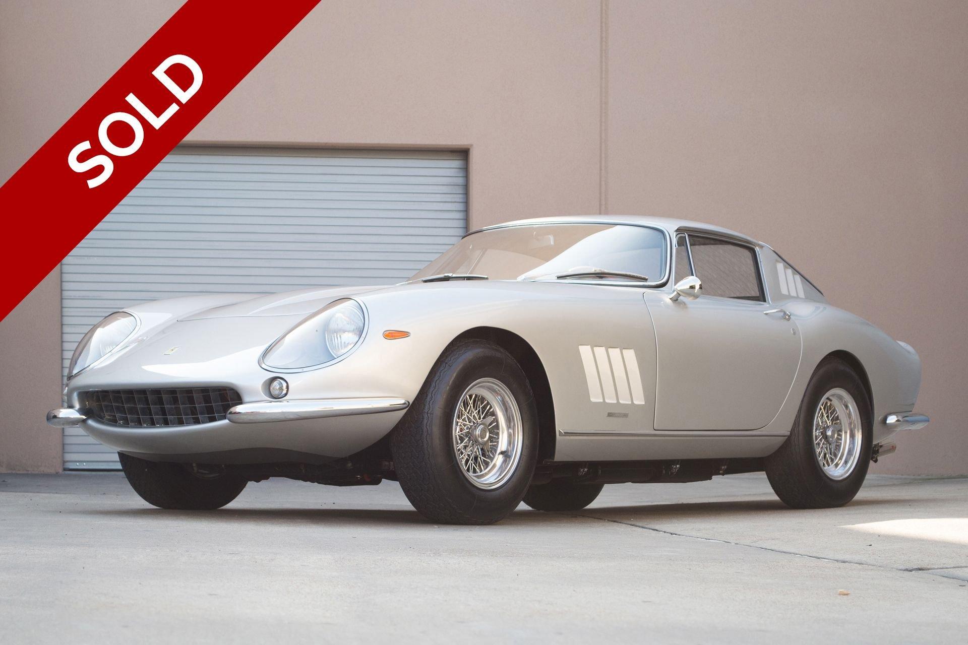 Sold 1967 ferrari 274 gtb 4