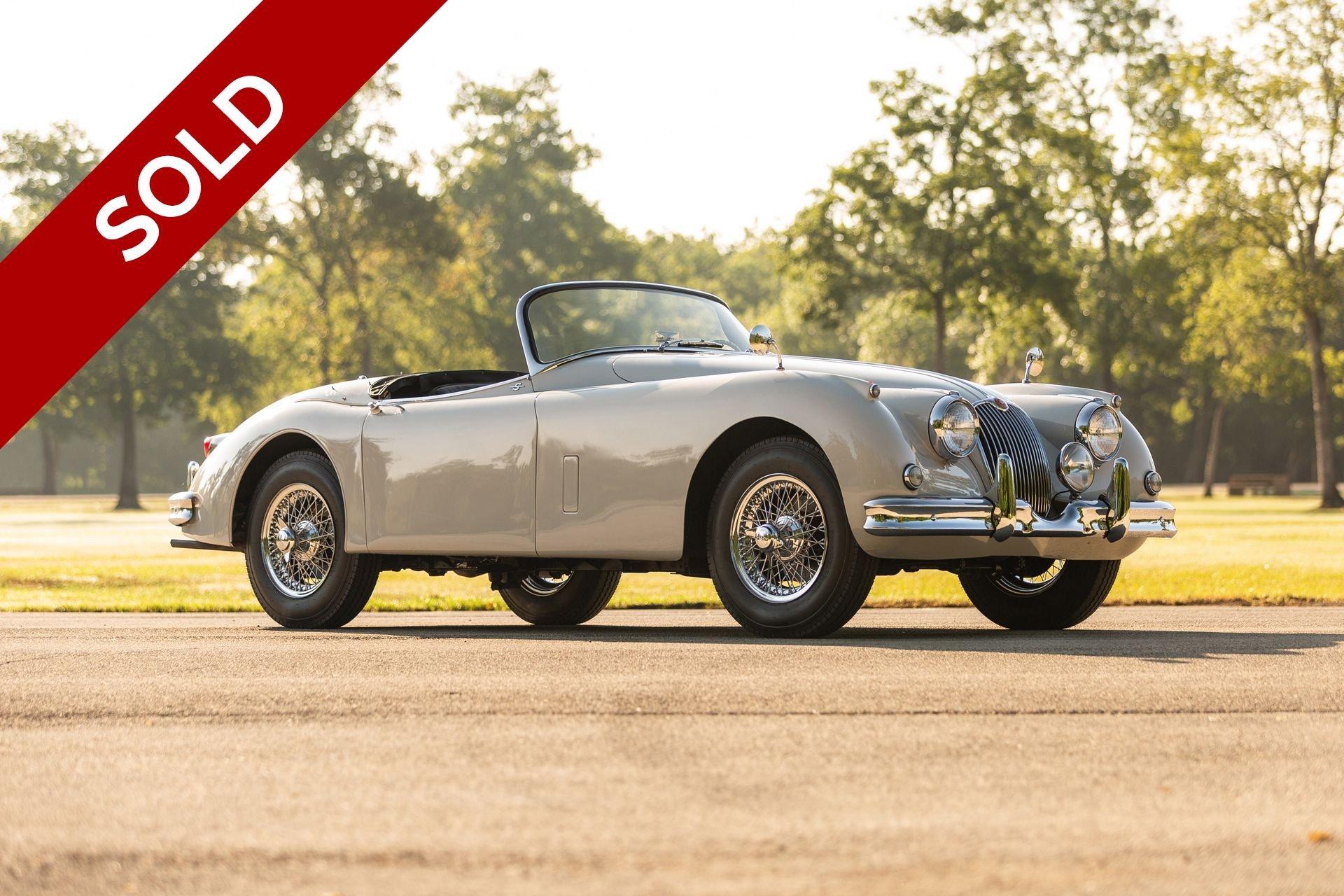 Sold 1961 jaguar xk150s