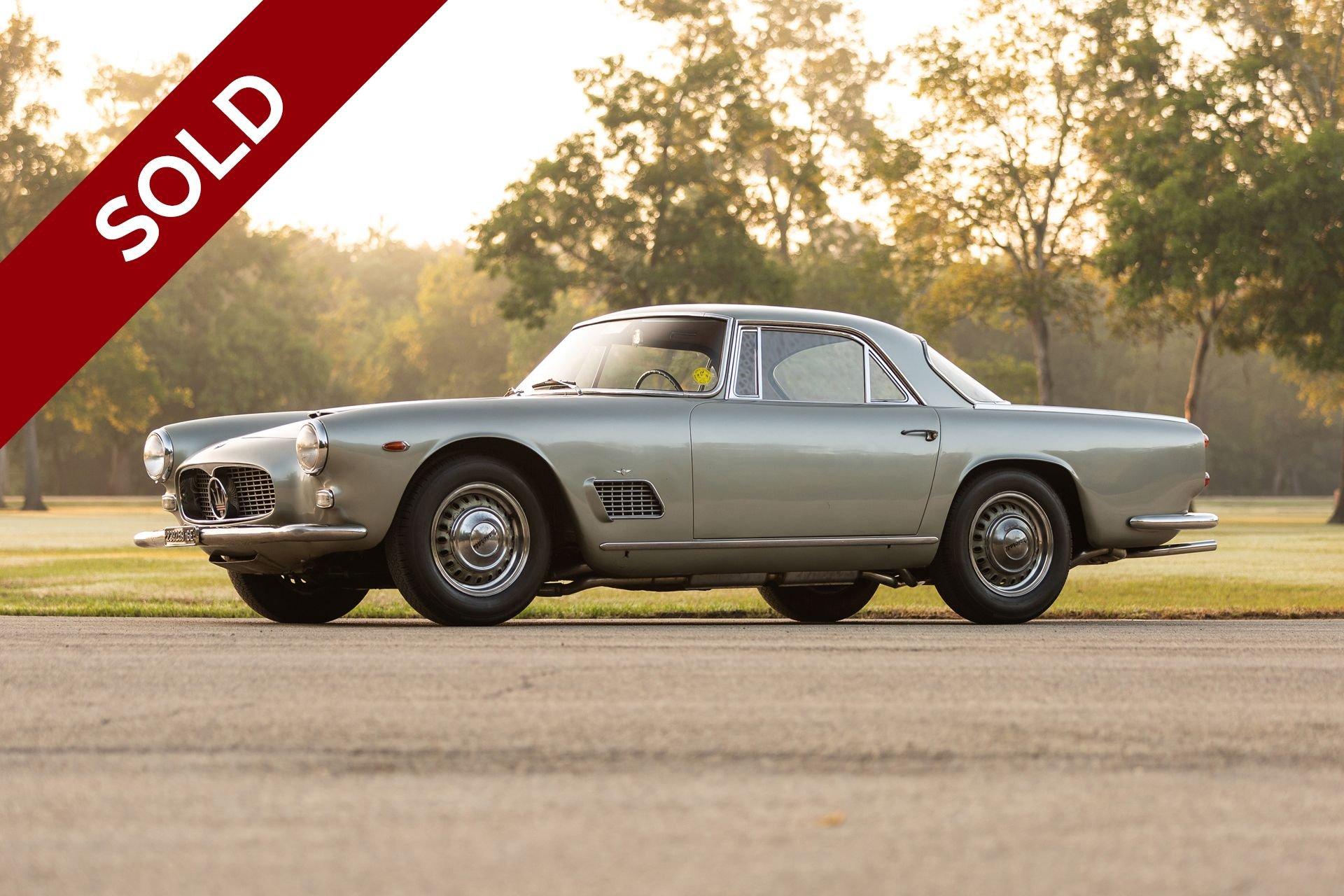 Sold 1964 maserati 3500 gti