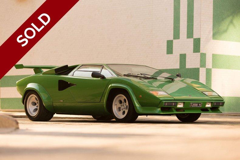 SOLD - 1981 Lamborghini Countach LP400 S