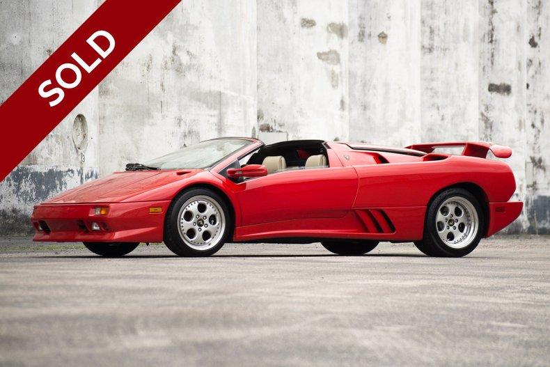 SOLD - 1997 Lamborghini Diablo