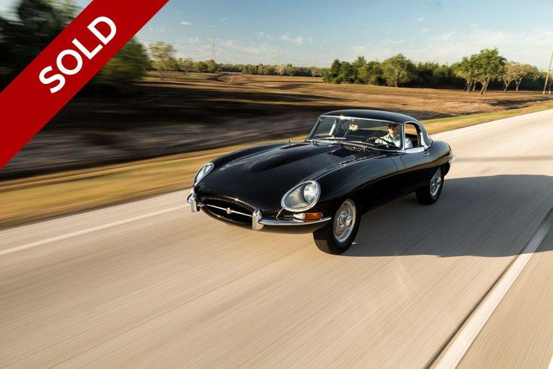 SOLD - 1967 Jaguar E-Type OTS