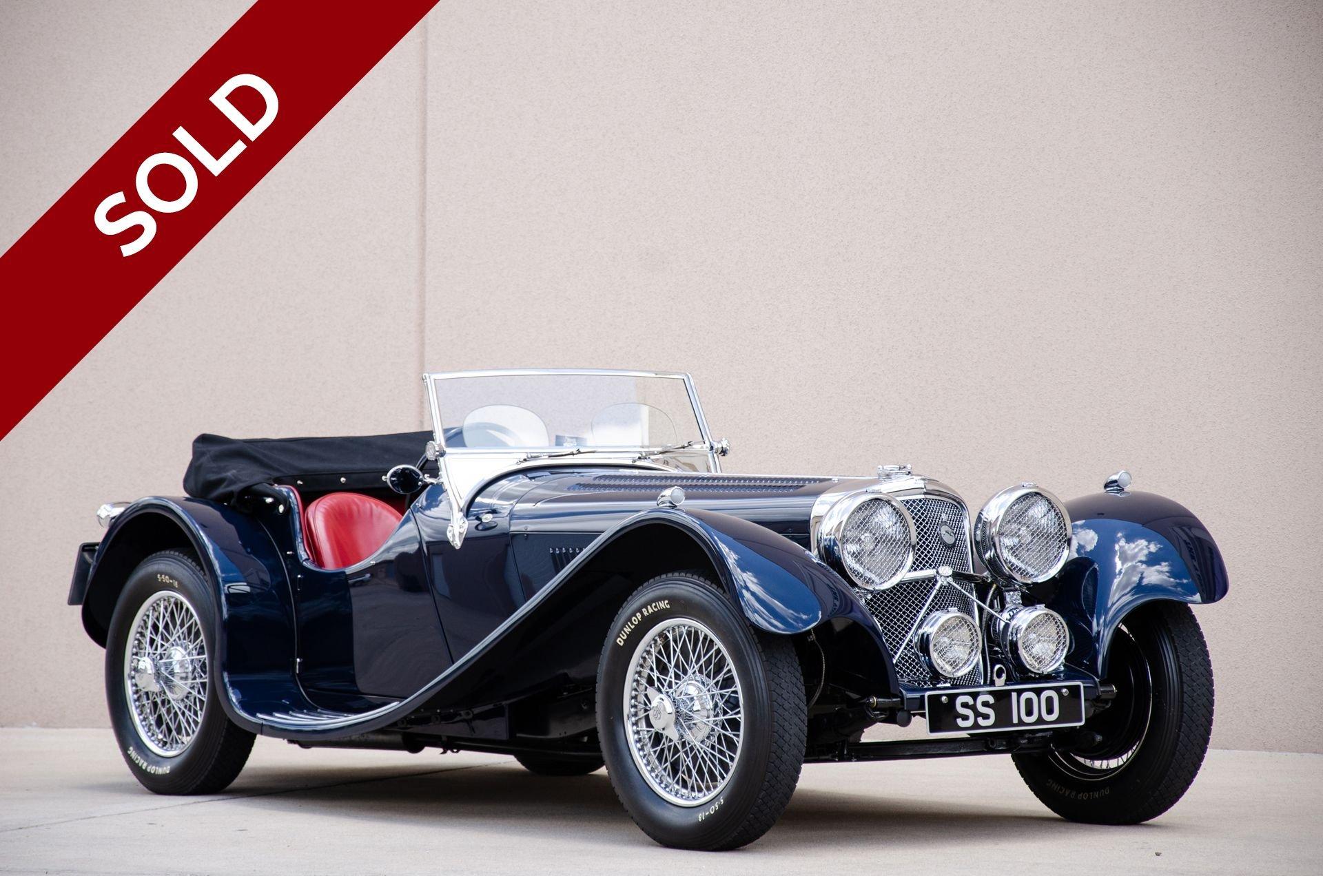 Sold 1937 ss 100 jaguar 3 5