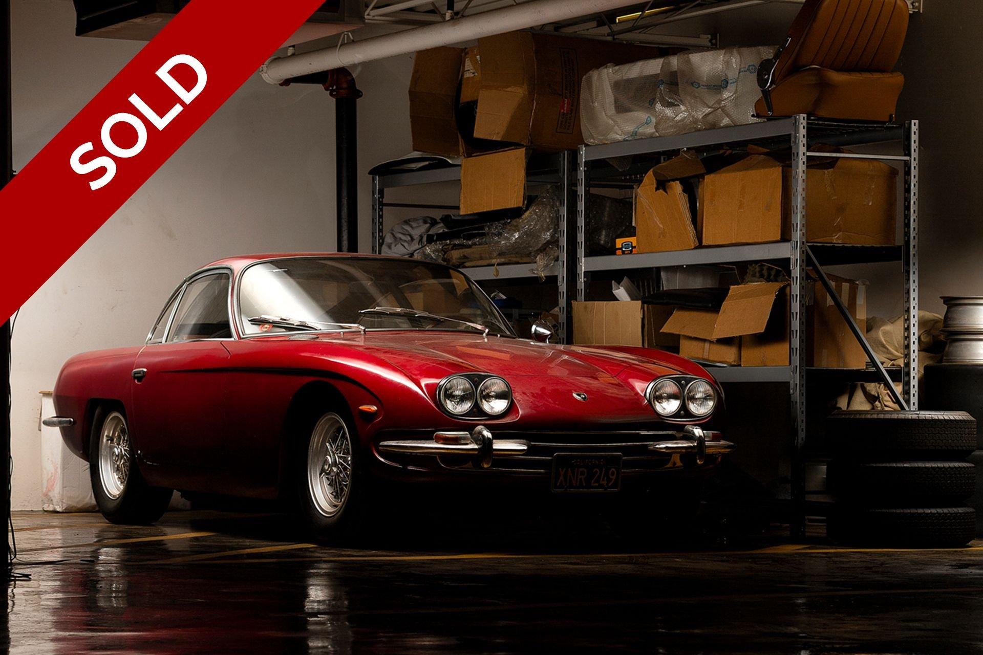 Sold 1967 lamborghini 400gt