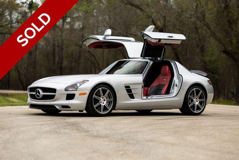 SOLD - 2011 Mercedes-Benz SLS