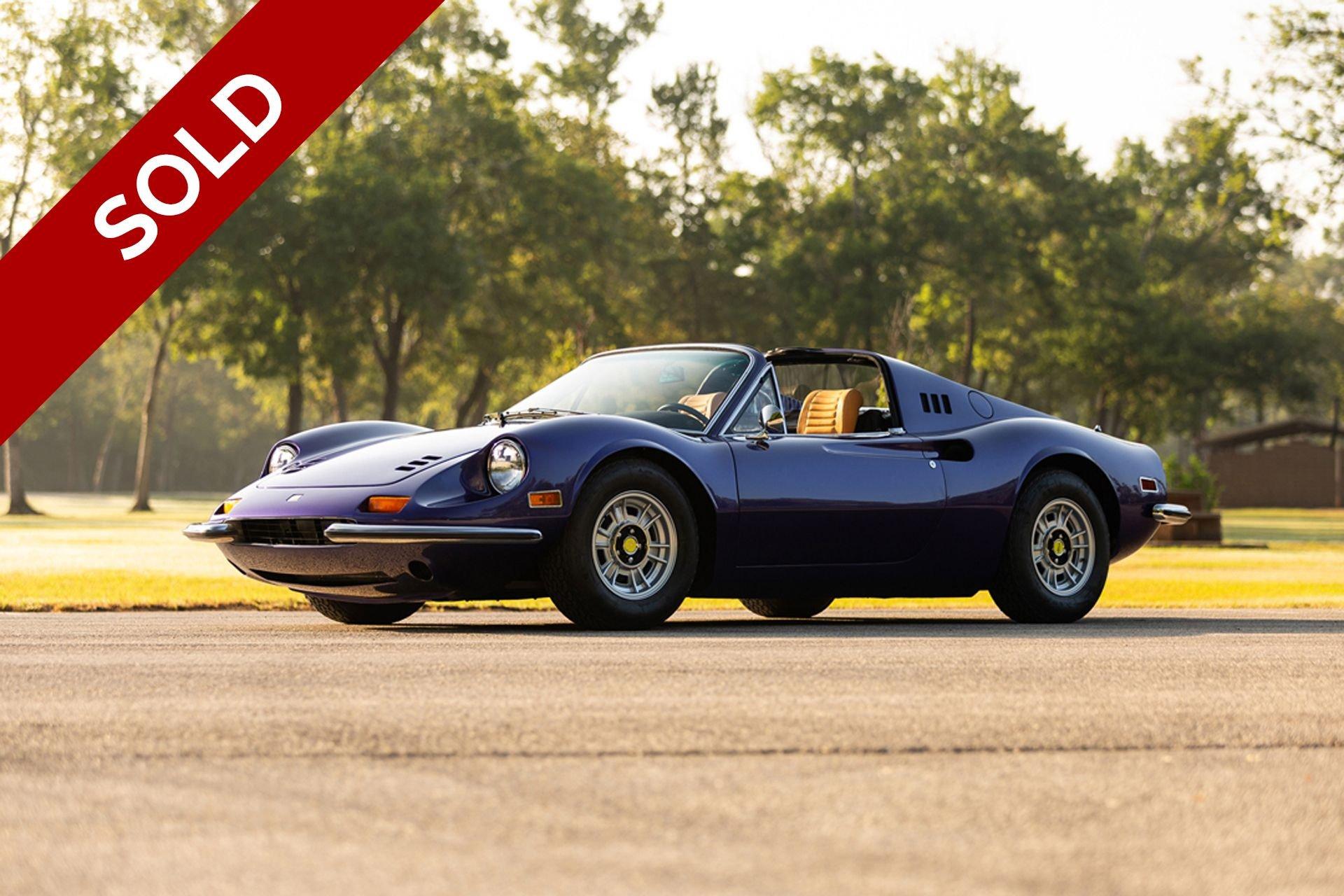 Sold 1974 ferrari 246 gts