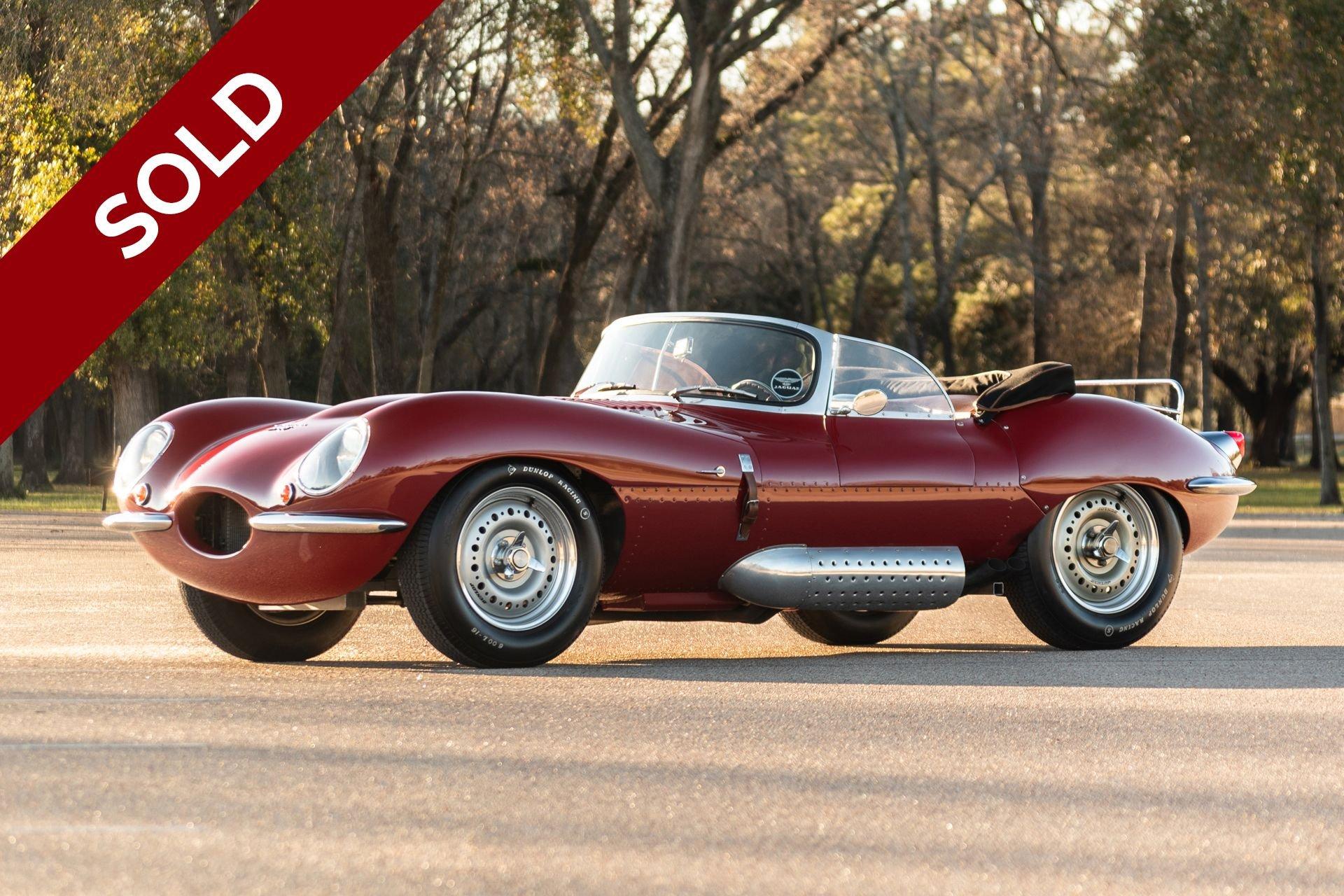 Sold 1957 jaguar xkss tempero