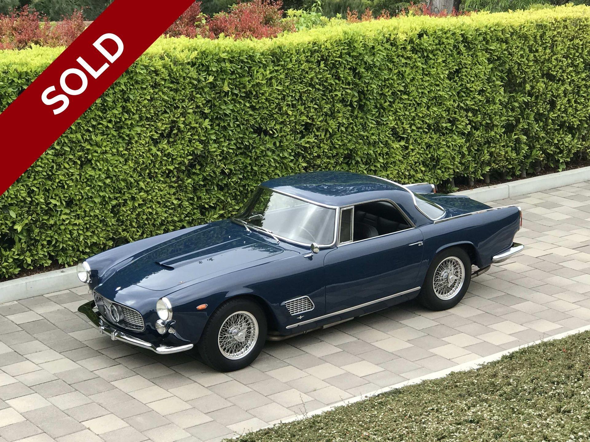 Sold 1961 maserati 3500gt