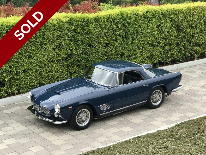 SOLD - 1961 Maserati 3500GT