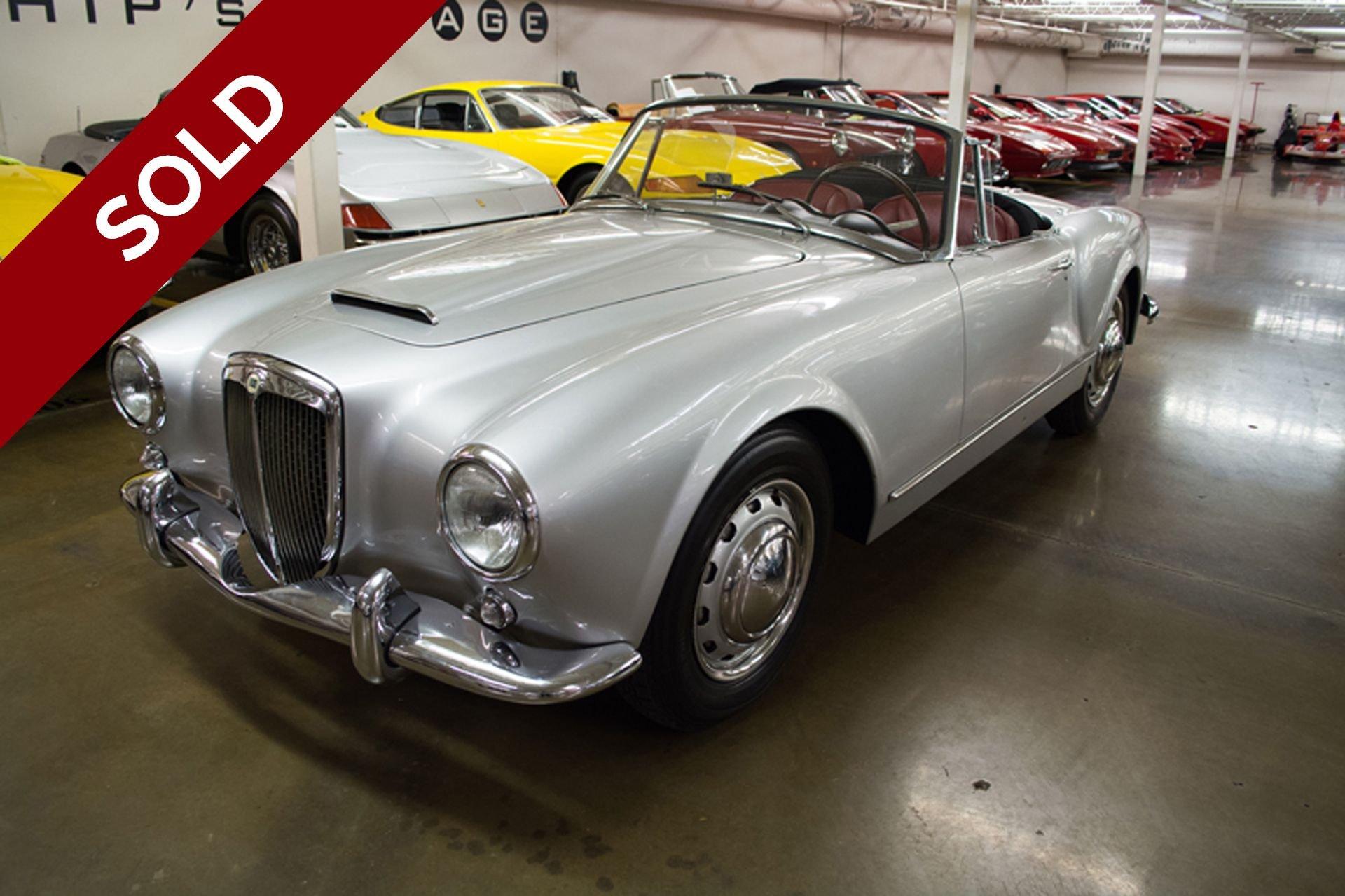 Sold 1959 lancia aurelia b24s