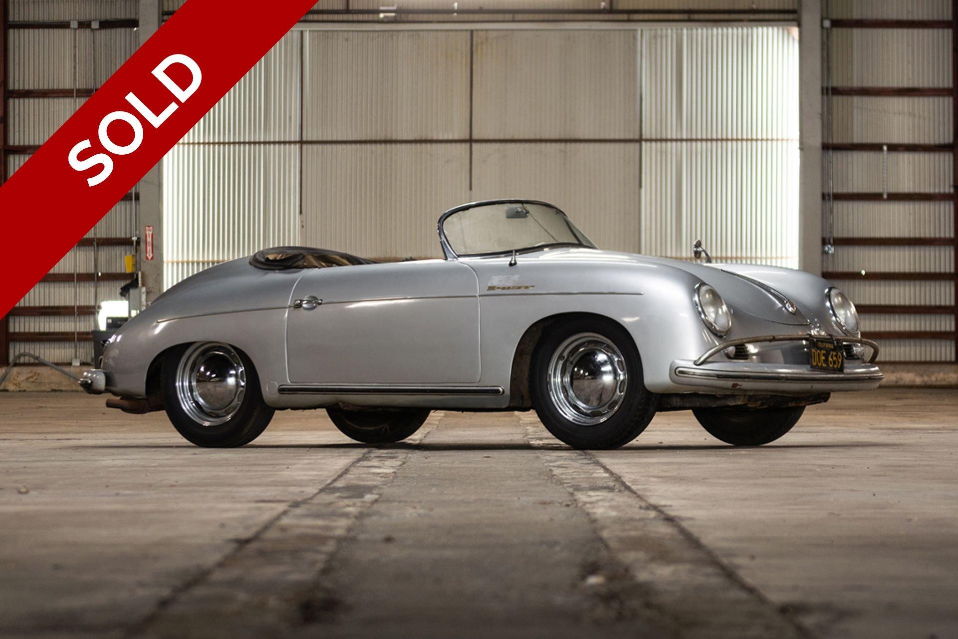 Sold 1954 porsche 356 speedster