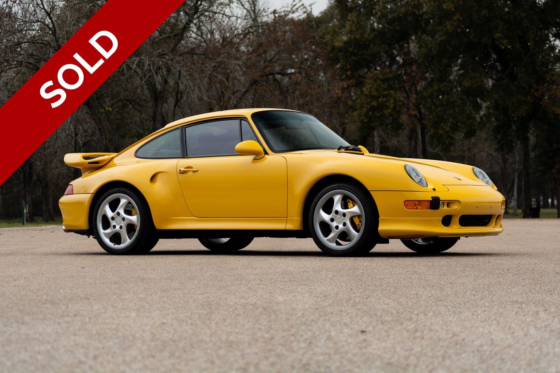 Sold 1997 porsche 911 turbo s