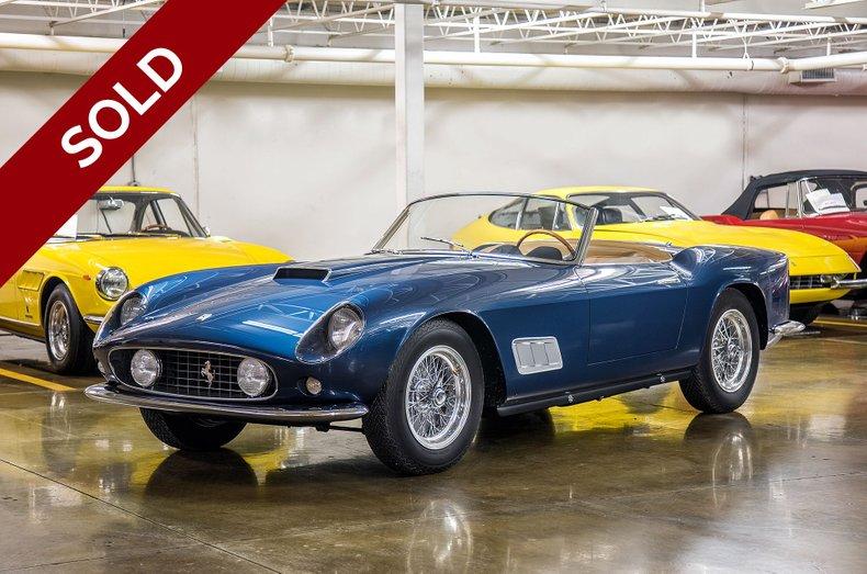 SOLD - 1959 Ferrari 250 GT California Spider