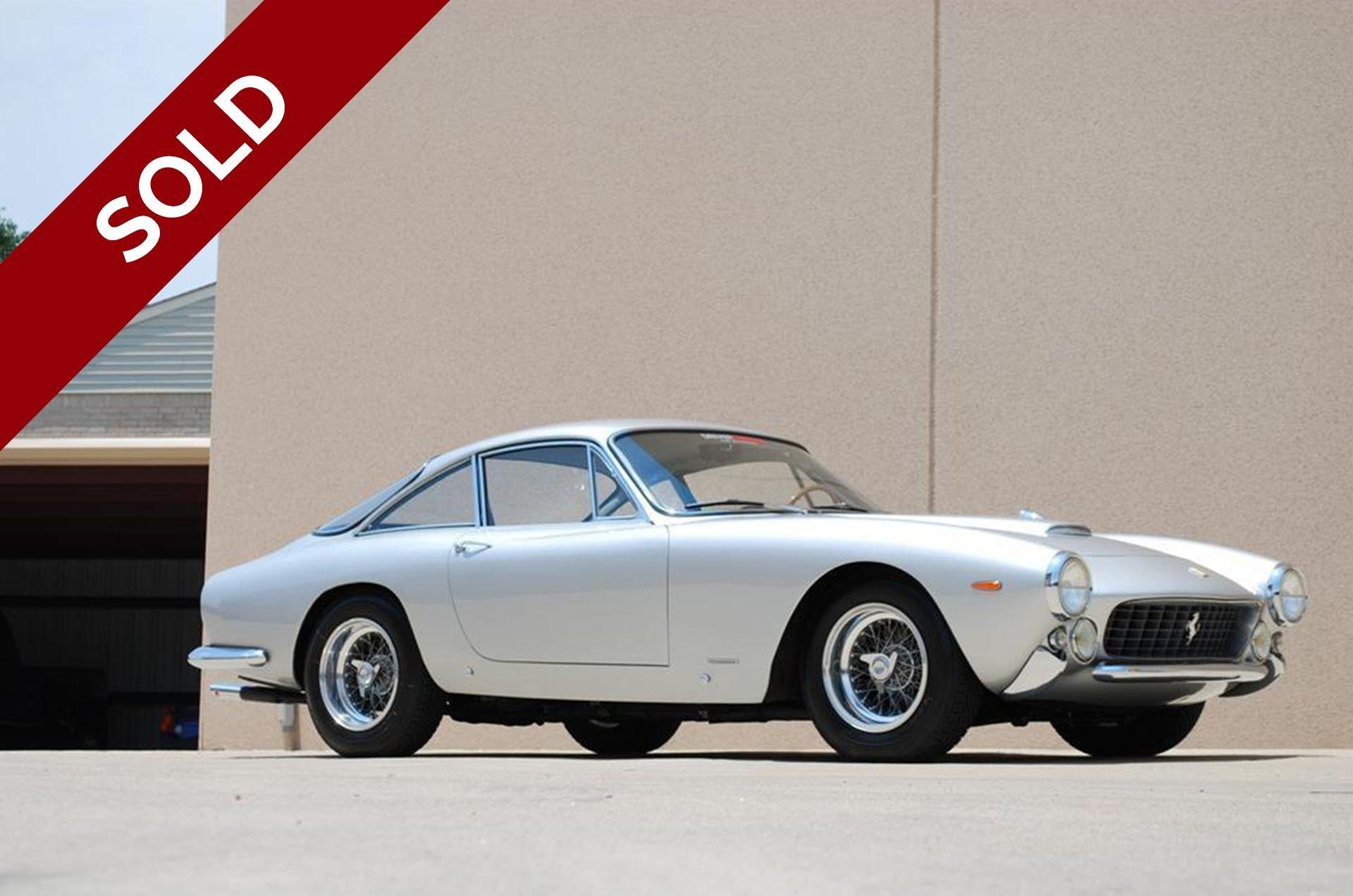 Sold 1963 ferrari 250 gt lusso