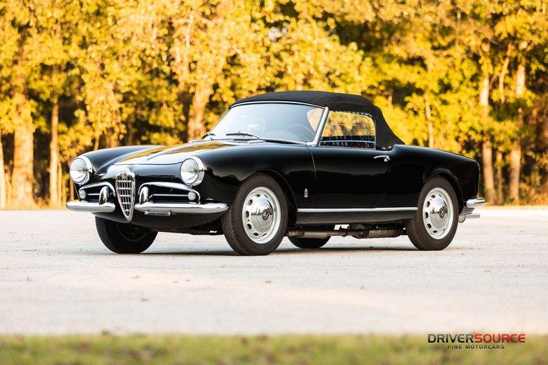 1958 Alfa Romeo Giulietta Veloce Spider