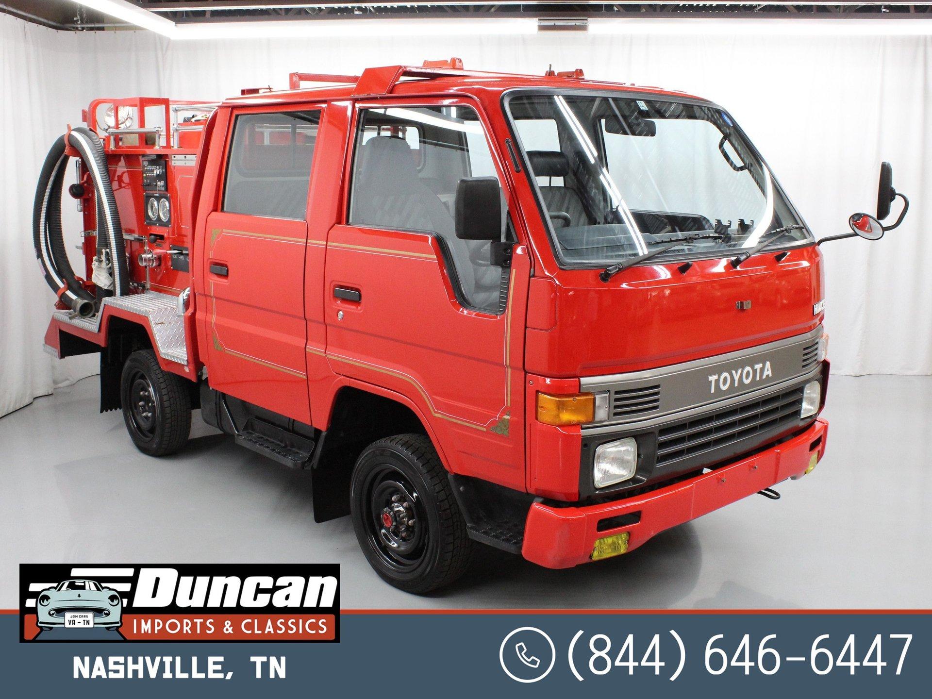 1991 toyota hiace firetruck