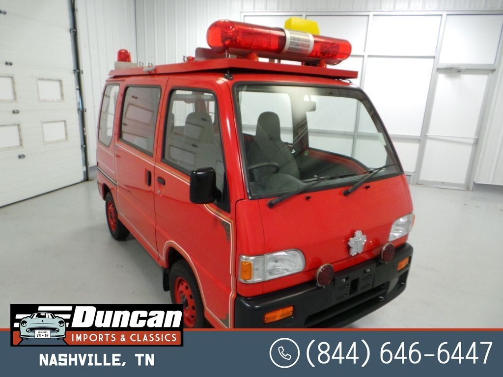 1995 subaru sambar firevan 4wd