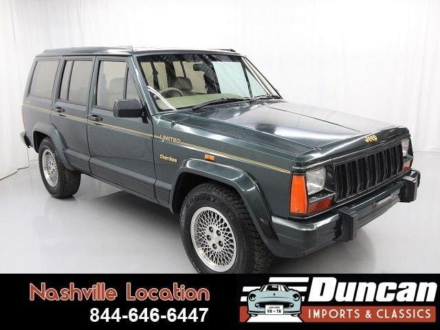 1993 jeep cherokee limited 4x4 rhd