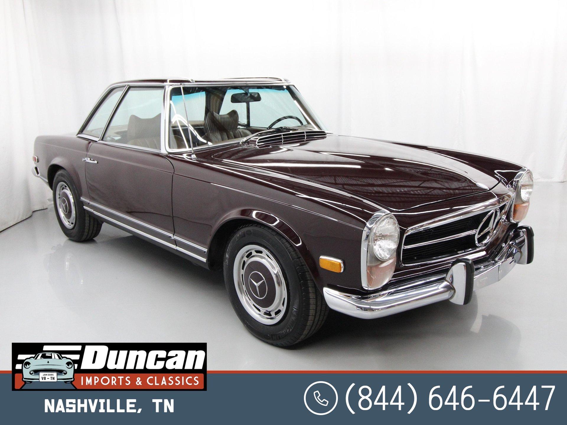 1971 mercedes benz 280sl