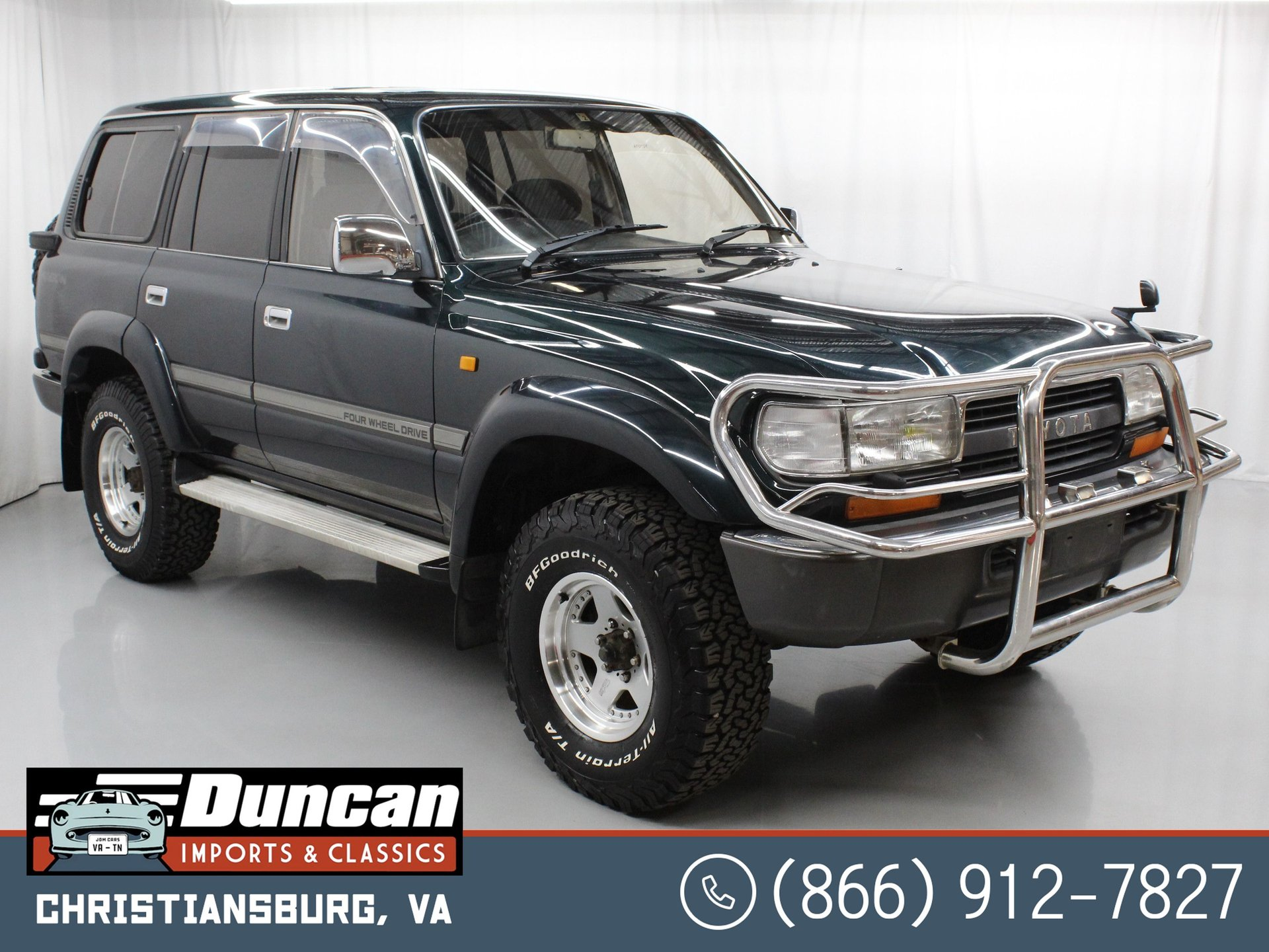1994 toyota land cruiser vx