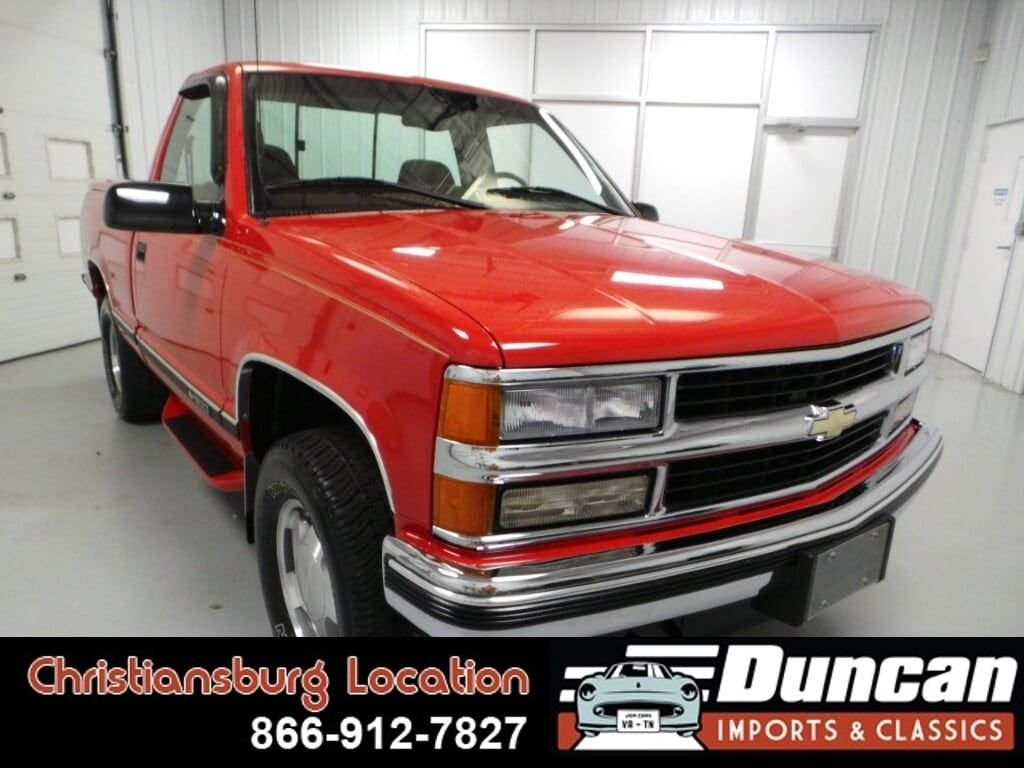 1998 chevrolet k1500 silverado fleetside
