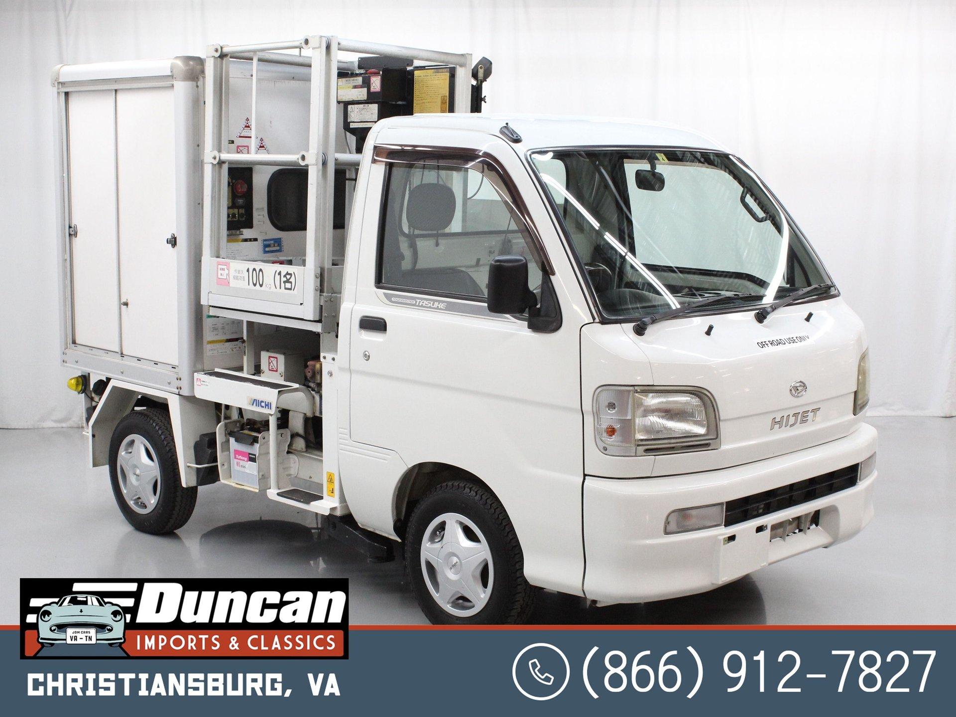 2000 daihatsu hijet lift truck