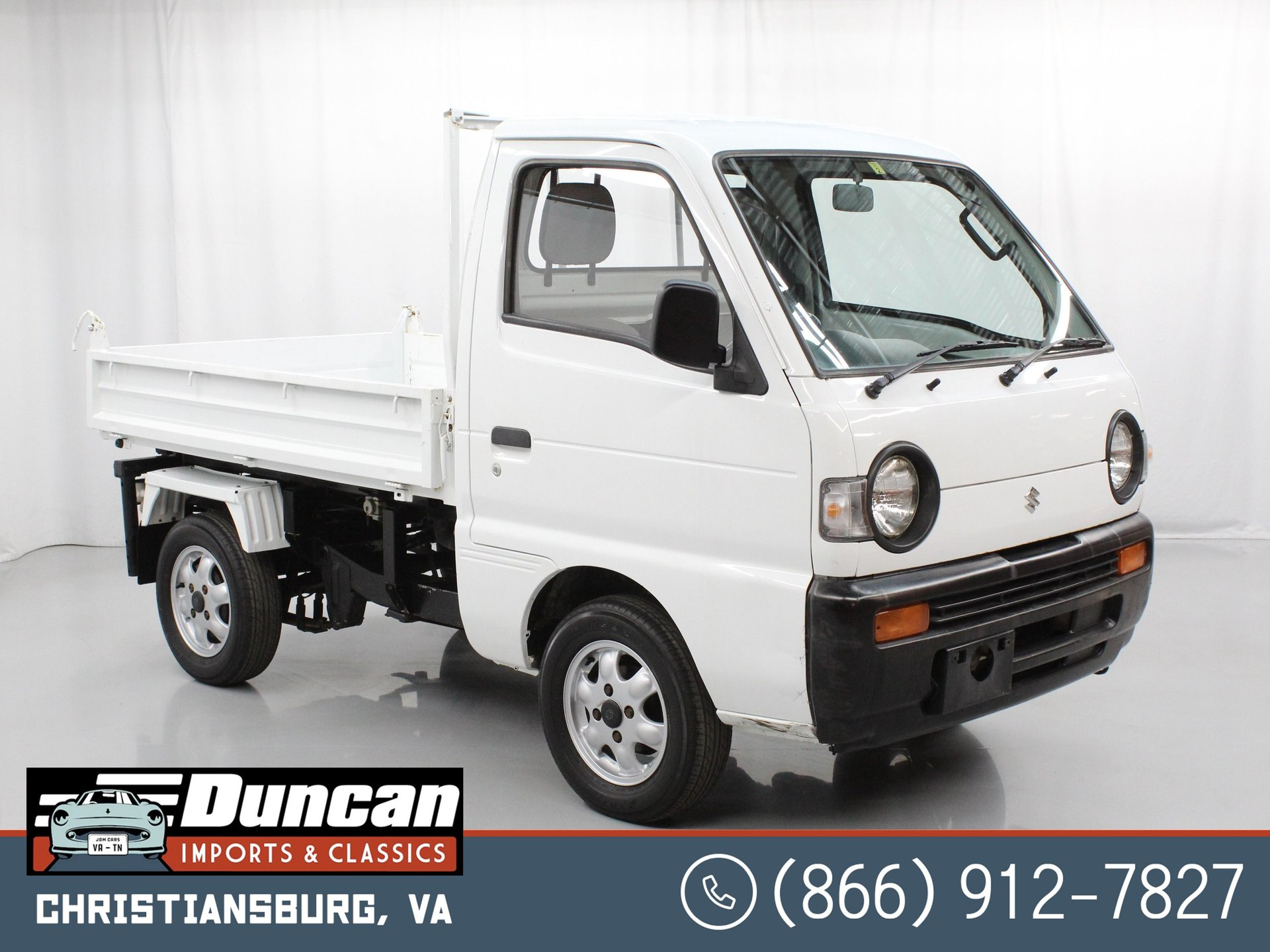 1993 suzuki carry dump bed