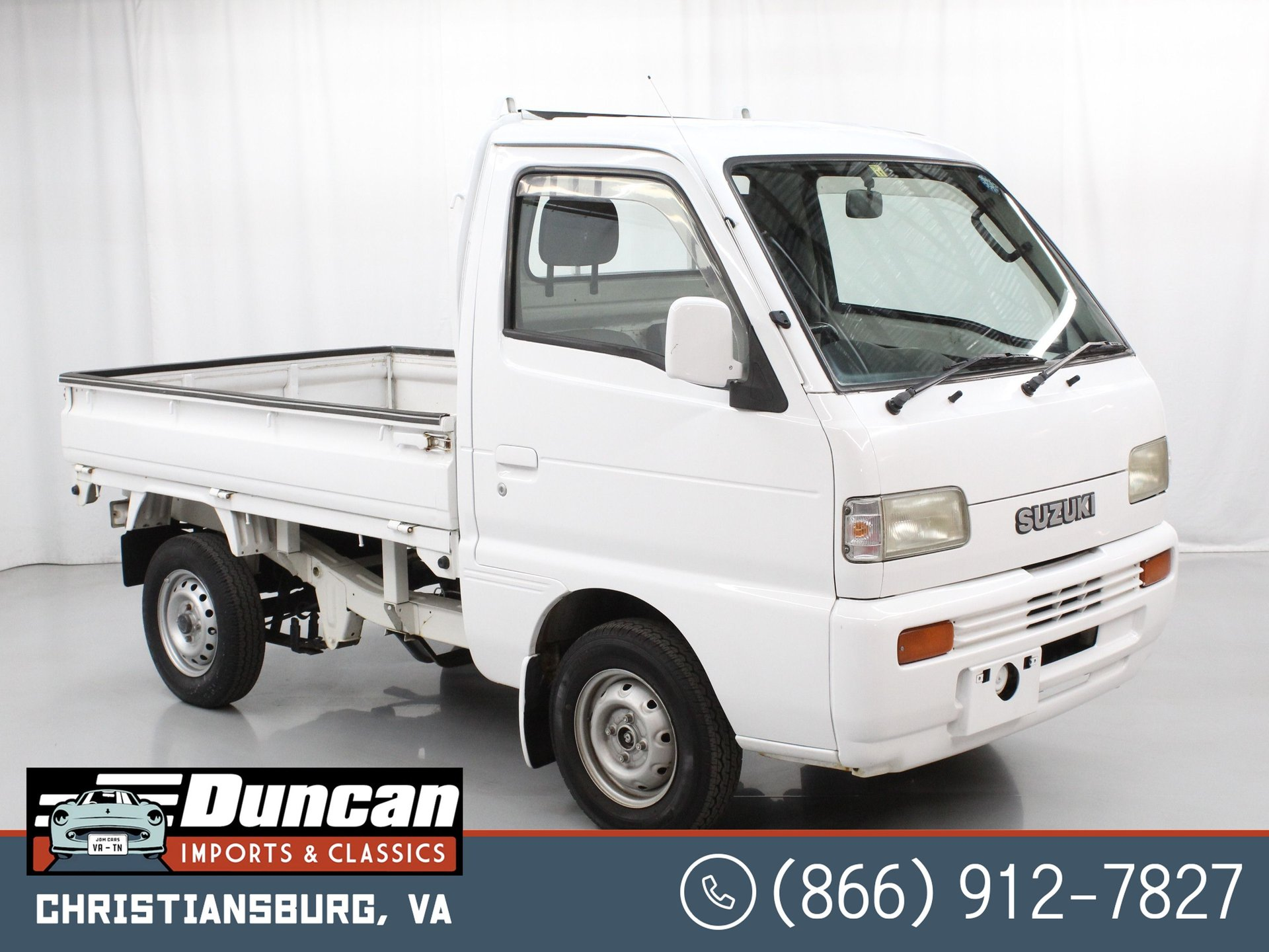 1996 suzuki carry dump bed