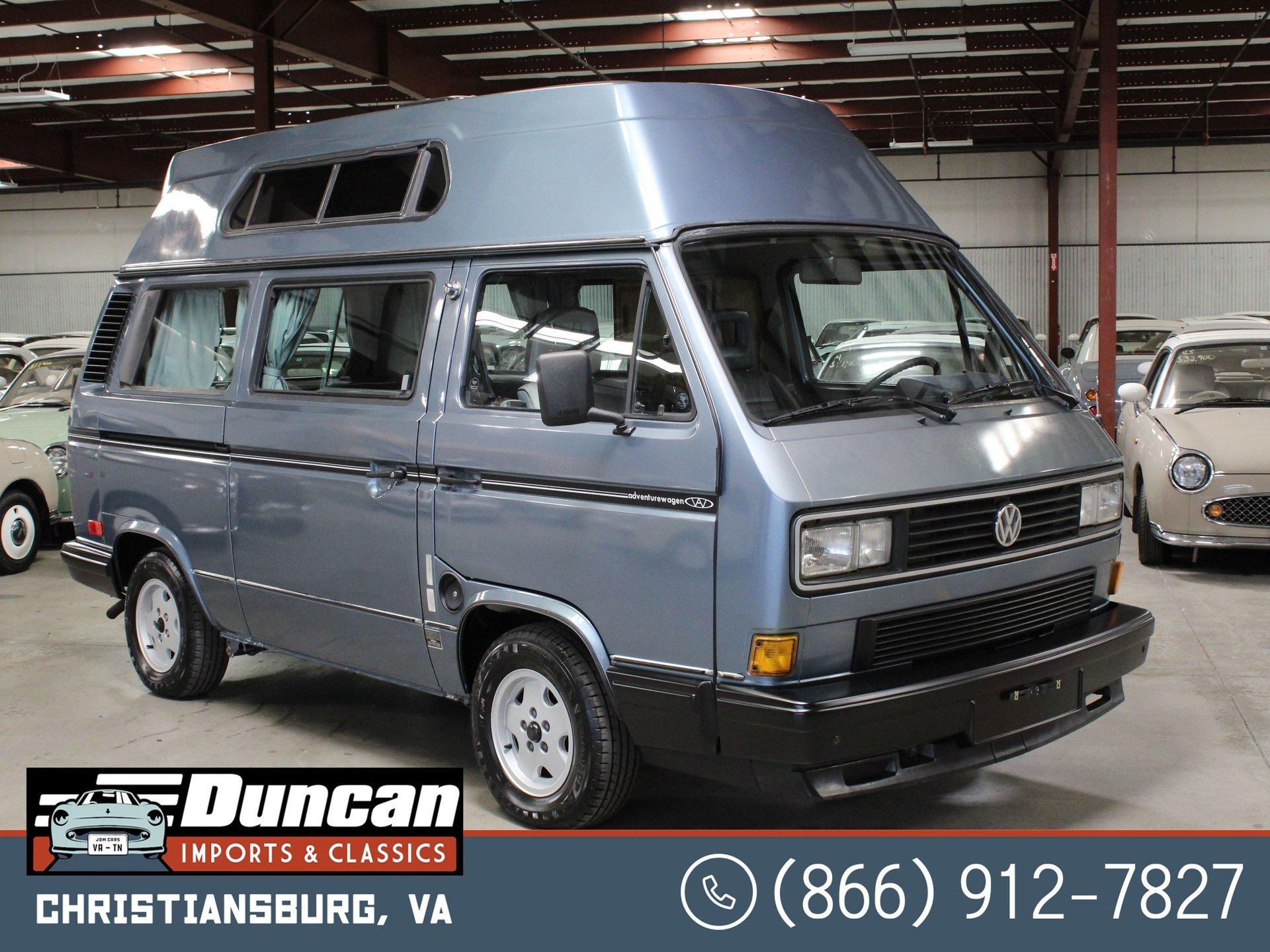 1990 volkswagen vanagon adventurewagen camper