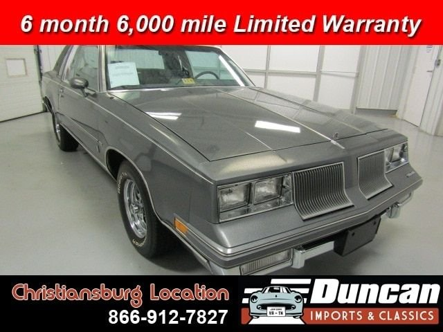 1986 oldsmobile cutlass supreme brougham