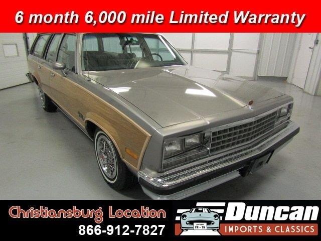 1983 Chevrolet Malibu Estate