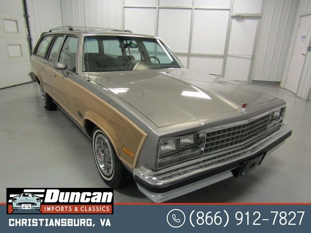 1983 chevrolet malibu estate cl